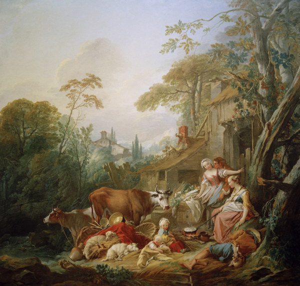 Francois boucher peintre francais for Boucher peintre