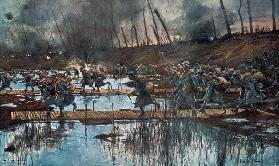 The Battle of the Yser in 1914