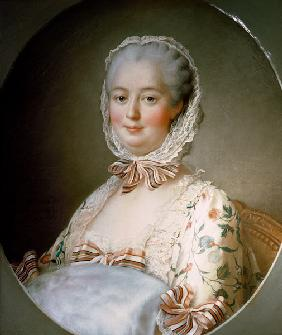 Portrait of Madame de Pompadour with a Fur Muff (1721-64)