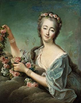 Portrait of the Countess du Barry (1743-93) as Flora