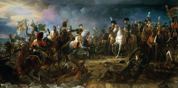 The Battle of Austerlitz on December 2, 1805