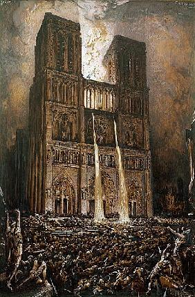 The Populace Besieging Notre-Dame