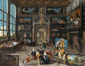 Gallery of a collector. (together with Cornelis de
