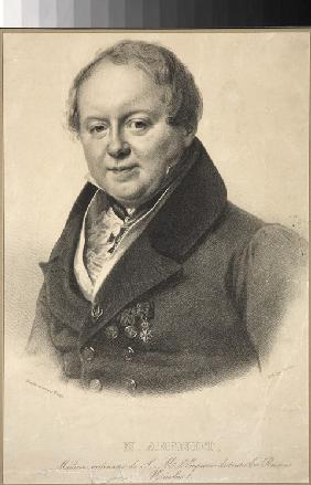Portrait of the imperial personal physician Nicholas Martin Arendt (1785-1859)
