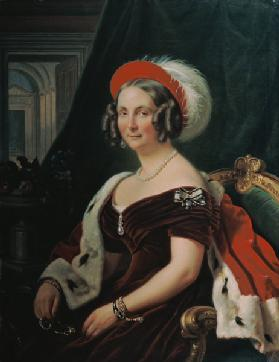 Portrait of Queen Frederica of Hanover (1778-1841)