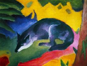 Blue-black fox.