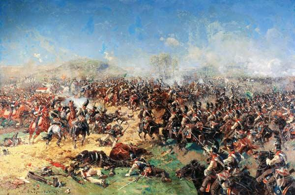Battle of Borodino on 26th August 1812
