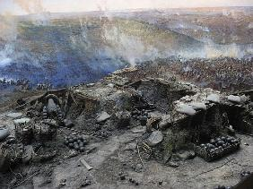 The Siege of Sevastopol Panorama (mixed media)