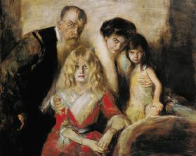 The Artist with his Wife and Children