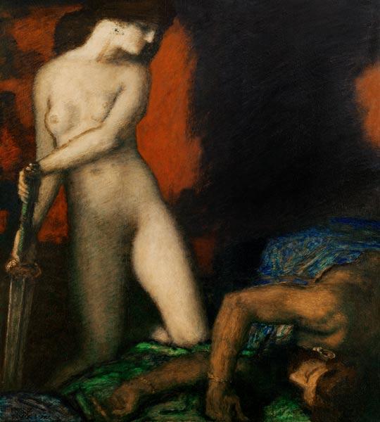 Franz von Stuck - Judith and Holofernes / Franz von Stuck