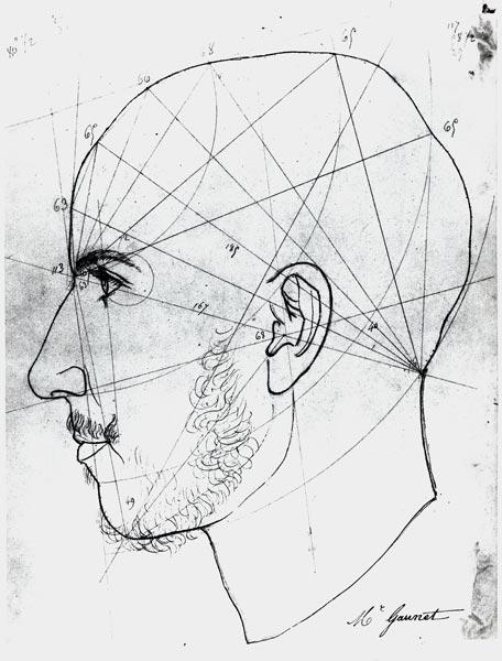French School : Phrenological study from a...