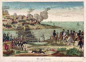 Siege of Trocadero Louis-Antoine de France (1775-1844) Duc d''Angouleme, 31st August 1823