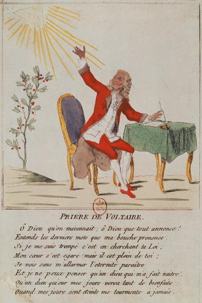 The Prayer of Voltaire