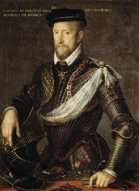 Gaspard II of Coligny (1519-72) Admiral of France