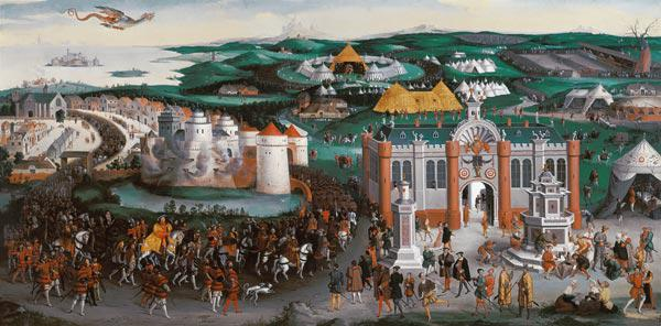 Meeting at the Field of the Cloth of Gold, 7th June 1520