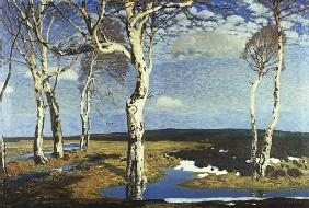 Birches in Worpswede