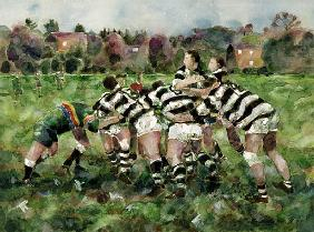A Rugby Match, 1989