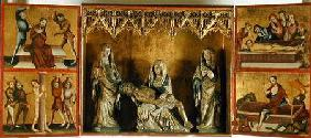 Altarpiece depicting the Lamentation and the Passion of Christ (Altar of St. Elizabeth Thuringia)