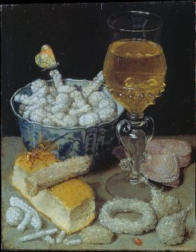 Still Life with Bread and Sweetmeats