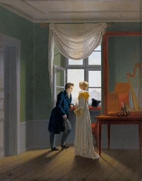 Couple at the window