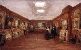 Interior of Turner's Gallery