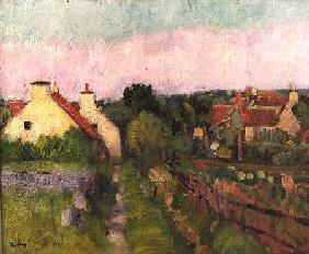 A Fife Village, probably Ceres