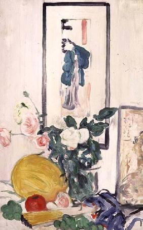 Still Life with Japanese Print (panel)