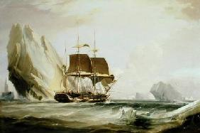 The Barque 'Auriga' in Antarctic Waters