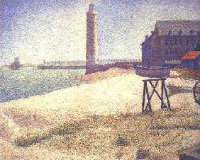Seurat, Georges : Lighthouse of Honfleur