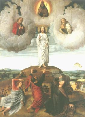 Transfiguration Jesu (middle panel of a Tryptichon
