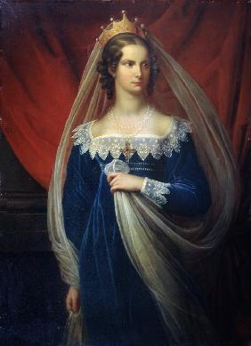 Portrait of Princess Charlotte of Prussia (1798-1860)