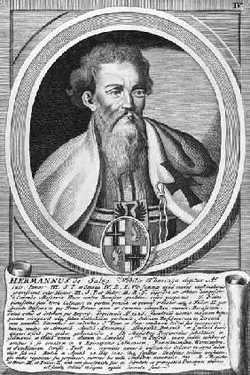 Hermann of Salza (xylograph)
