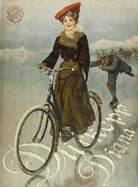 Poster advertising Duerkopp bicycles