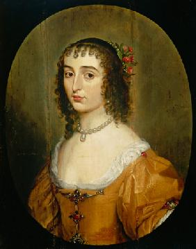 Elisabeth of the Palatinate (1618-1680), daughter of the winter king Friedrich V