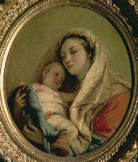 Madonna with Sleeping Child, 1780s