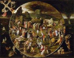 The Haywain, Allegory of the Vanity of the World
