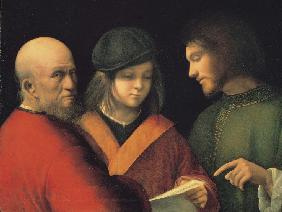 The Three Ages of Man (Reading a Song)