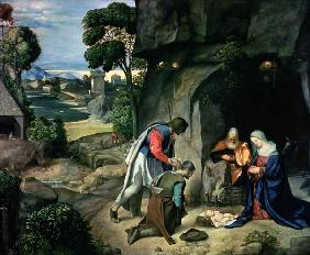 The Adoration of the Shepherds (The Allendale Nativity)