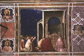 The Virgin's Suitors Praying before the Rods in the Temple