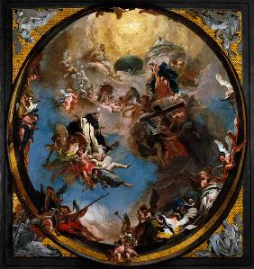 G.B.Tiepolo /St.Dominic in Glory/ c.1725