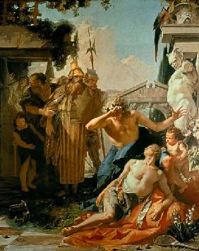 Tiepolo, Giovanni Battista : The Death of Hyacinthus