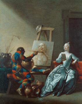 The Harlequin Painter