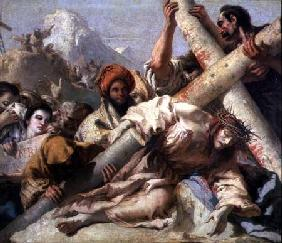 Christ's Fall on the way to Calvary