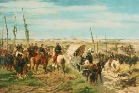 The Italian Camp at the Battle of Magenta