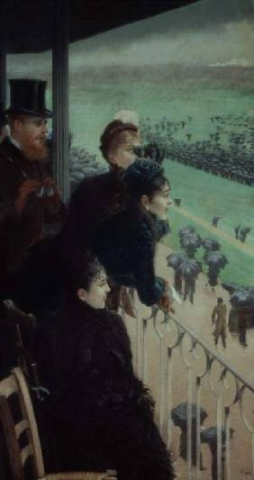 The Races at Auteuil (part of a triptych)
