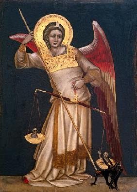 Guariento / Angel of Justice with scales