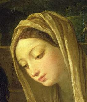 The Adoration of the Shepherds, detail of the Virgin, c.1640-42 (detail of 35651)