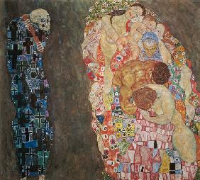 Klimt, Gustav : Death and life completed