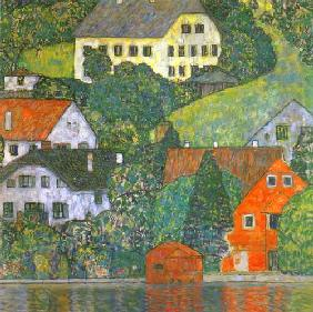 Houses in Unterach at the Attersee