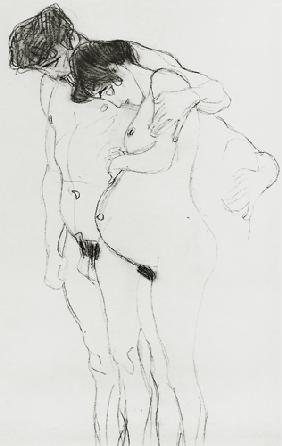 Study for 'Hoffnung I' (Hope I) 1903-04